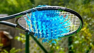 Slow Motion Jelly Tennis