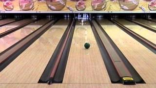 Spinning Bowling Ball Trick Shot!