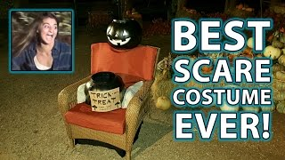 Halloween Chair Costume Prank