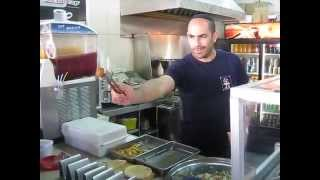 Amazing Falafel Catching Skills