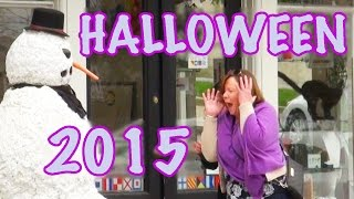 Scary Snowman Halloween Special 2015