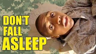 the Danger of Falling Asleep in the Military