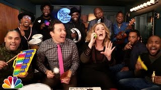 Jimmy Fallon, Adele & The Roots Sing Hello
