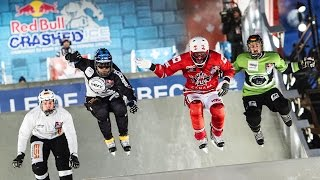 Downhill Ice Cross Battles in Canada