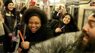 Dance Party on the Train
