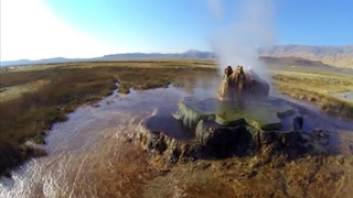 A View of Fly Geyser