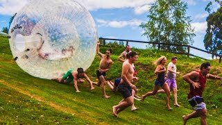 Indiana Jones with Zorb Balls