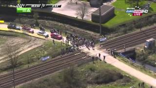 Train Interrupts Cyclists