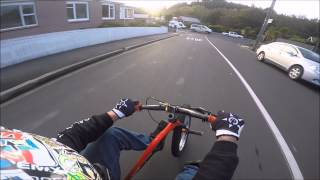 Drift Triking Down the Steepest Street