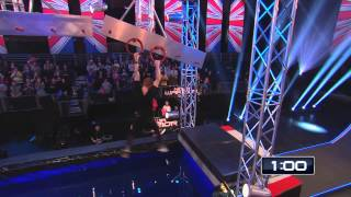 UK Parkour Guy Nails Ninja Warrior