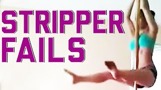 Stripper Pole Fails