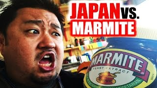 Japanese People Try Marmite