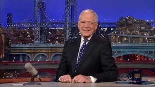 David Letterman Signs Off for the Last Time