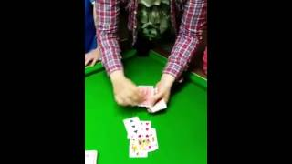 Irishman's Fun Card Trick