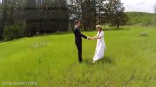 Wedding Photographer Tried Using a Drone