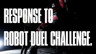 Japan Responds to Robot Duel Challenge