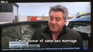 Funny Irishman's Take on Same Sex Marriage