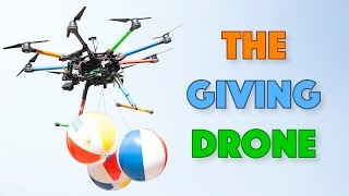 The Giving Drone