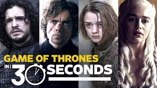Game of Thrones Explained in 30 Seconds