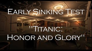Animation of the Titanic Sinking