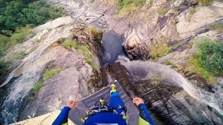 Insane 59 Metre Cliff Jump!