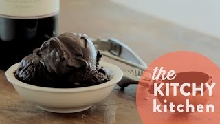 How to Make Chocolate Sorbet