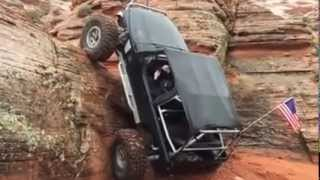 Jeep's Amazing Rock Climb