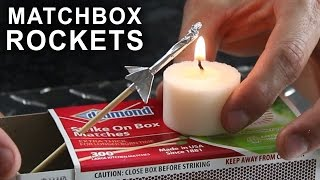 Making a Matchbox Rocket Launching Kit